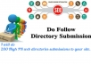 Do 200 High PR web directories submissions to Your site/blog