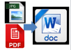 I typed 10 PDF/JPEG File to Doc Word File 100% Accuracy