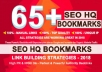 Add 65 Social Bookmarks Backlinks From PR10 To PR6 sites With DA-PA-TF 100-60