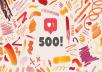 500+ ❤️❤️❤️ Etsy Shop Promotion - 2020 Promotion Pack