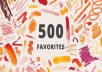 500+ Favorites for You Etsy Shop - 2020 Promotion Pack