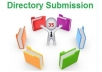 1000 Directory Submission for your website with in 2 Days