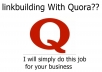 Top 80 niche related Quora answer for business