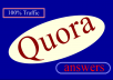 Promote your website in 15 Quora Answers with contextual link