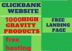 Create Clickbank Site With 1000 Health & Fitness products