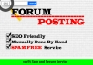 Promote Your Website With 30 HQ Forum Posting