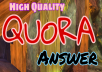 Promote your website by 5 Quora answer