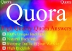 Promote your website in 10 Quora Answers