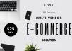 I'll Develop Multi-Vendor E-Commerce Solution