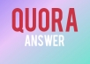 Get traffic with 10 Quora answer