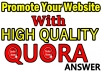 HQ 30 Quora answer with website Keyword and URL