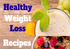 500 Weight Loss recipes with pictures and descriptions