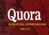 10 HQ Quora answer For Promote your business