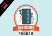 Special Offer - Web Hosting For a Cheap Price