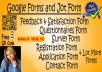 Create Responsive Jot-form, Type-form, Survey-form and Google-Docs with FREE QR Code