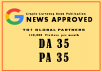 Publish Your Article On Google News Approved Crypto Site