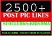 Fast Real 1000 High Quality Social Pictures Promotion