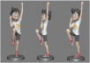 COMPLEX 3D PRINT CHARACTER CARTOON, 3D GAME CHARACTER, 3D ANIMATION CHARACTER