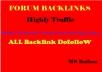 Limited Time- 100 Forum Posting Backlinks from High DA-40+ Domains-Skyrocket your Google RANKING