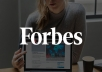 Forbes feature article - Forbes.com ★★★★★