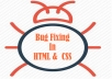 I Will Fix Bugs In Your Php,Mysql,Html,Css,Javascript Code + wordpress