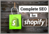 I Do Shopify SEO To Increase Sales And Traffic