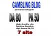 Backlink DA80x7 site gambling blogroll