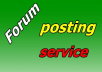 Rank on Google Alexa by exclusive manually 2200 + Relevant Reply Post Forum Posting