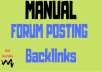 Rank on Google Alexa by exclusive manually 2200 +forum posting