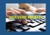 Data entry with more than 99% accuracy