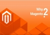 Create eCommerce website in Magento2