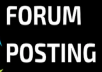 Google Alexa by exclusive manually 2200 + forum posting Backlinks