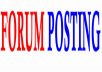 Rank on Google Alexa by exclusive manually 2000++ forum posting