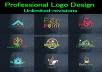 Professional logo design Express delivery
