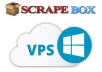 High-End Windows VPS with Scrapebox + All Premium Plugins installed and licensed
