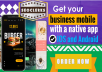 Will Design And Develop IOS And Android Native Apps For Business, App Developer