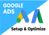 Google search and google shopping ads setup