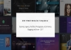 Give You Two Hundred HTML5 Templates