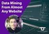 Web Scrap,Data Mining,Data Extraction