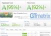 Any Website Speed Optimization for Gtmetrix , Google , Pingdom Tools