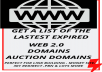 Get the latest High Quality expired domains & auction domains