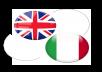 Translation from English to Italian or viceversa