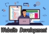 Create custom website development