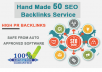 I will create 180 high authority backlinks rank you first on google