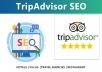 I will do tripadvisor pro SEO service
