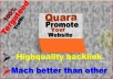 Recommend your website 30 high quality Quora Answer posting of your keyword related