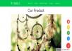 Modern and Simple shopify/portfolio Website
