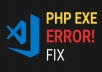 Any Website PHP Error Codding Fix