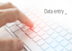Data entry and Microsoft Excel