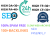 Find top 6 expired domain with high metrics